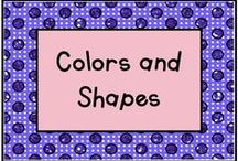 Colors and Shapes / We love making books with children and here are our color and shape books! / by KinderLit