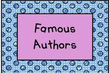 Famous Authors / Kindergartners love these authors! / by KinderLit