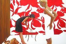 Art / Binnenkunst / Kunstenaars die op De Blauwe Meije Exposeren of hebben geexposeerd