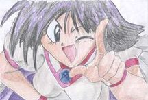 My drawings / Some of my drawings from some time ago (mostly manga/anime themed)...