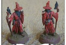 Painted miniatures / This is another hobby of mine - painting miniatures...