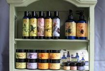 Natural Beauty & Body Care / Here is an assortment of some of the best natural body care products that we carry! We care about our products being high quality and chemical free. See our full line of products at www.EarthTurns.com / by EarthTurns
