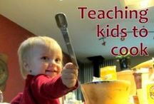 Learning in the Kitchen / Find recipes, lessons, and activities for cooking with your kids. / by Kaplan Toys