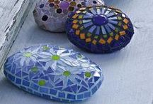 cute & tiny mosaic pieces