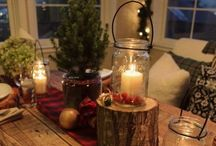 Christmas Inspiration / Love, love, love Christmas! The bright part of living up north...