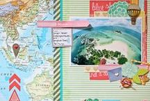My Design Team Projects for Life Paper Scrapbook.