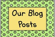 Blog Posts - Ours and Others! / Read what's happening in Lisa's classroom for tips, ideas, and activities! / by KinderLit