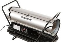 Kerosense Forced Air Heaters / Thermablaster Kerosene Forced Air Heaters come in 75,000, 125,000, and 175,000 BTU models. Our stainless steel barrel and Danfoss Gear pump make this kerosene forced air heater one of the most reliable on the market.