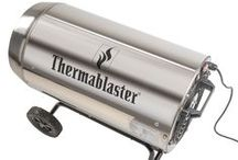 Propane Forced Air Heaters / Thermablaster Propane Forced Air Heaters come in 35,000, 60,000, 125,000, and 175,000 BTU models. Our stainless steel barrel and computer controlled ignition make this propane forced air heater very efficient.