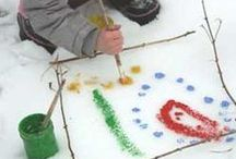 Winter Play! / Toys and learning ideas to make winter fun for kids!