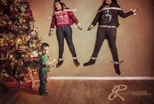 Family Christmas pictures / Fun family holiday photo ideas