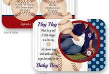 Baseball Party Theme / baseball theme invitations, party printables and inspiring ideas for any baseball fan!