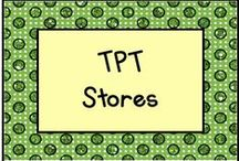TPT Stores / Be sure to check out these teacher stores on Teachers Pay Teachers! / by KinderLit