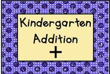 Kindergarten Addition / Fun activities for teaching addition in Kindergarten!  This is a collaborative board - please pin one free item for every paid product.  Contact us at lmburns2@gmail.com if you want to join!  / by KinderLit