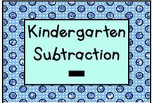 Kindergarten Subtraction / Fun activities for teaching subtraction in Kindergarten!  This is a collaborative board - please pin one free item for every paid product.  Contact us at lmburns2@gmail.com if you want to join!  / by KinderLit