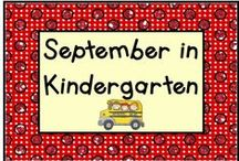 September in Kindergarten / Great pins for a great start in Kindergarten!  Pin up to 3 pins a day that relate to activities and ideas for September, like apples, Patriots Day, first day of fall, Grandparents Day, etc.