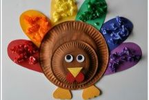 Celebrating Thanksgiving with Kids! / Teach young children the importance of gratitude and family time while making fun crafts along the way! #SEL #earlyed