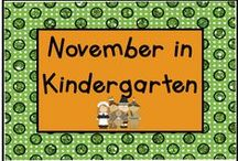 November in Kindergarten / All things November!  It's more than just Thanksgiving - pins for Veteran's Day, Election Day, even Mickey Mouse's Birthday!  If you would like to join this collaborative board, send me a message at lmburns2@gmail.com.