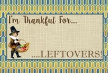 Thanksgiving / Thanksgiving invitations, printables and yummy recipes