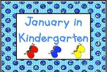 January in Kindergarten / All things January! Pin for all special days including New Year's, Martin Luther King, Jr. Day, and winter.