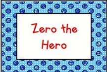 Zero the Hero / Lots of fun activities for counting 100 days of school with Zero the Hero!  / by KinderLit