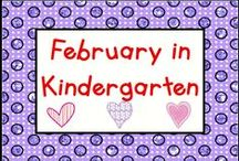 February in Kindergarten / Check out these February activities! Pin up to 3 pins a day that relate to activities and ideas for the month, like Groundhog Day, Mardi Gras, Chinese New Year, the Super Bowl, Valentine Day, and Presidents Day.