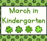 March in Kindergarten / March - a month full of activities for Pre-K to First!  Pin up to 3 ideas, products, or activities for the month like Read Across America, St. Patrick's Day, First Day of Spring, and Easter.  If you would like to pin to this board, please send an email to Lmburns2@gmail.com.