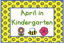 April in Kindergarten / All things April!  A busy month as we work toward the end of the year.  Pin up to 3 ideas, products, or activities a day for April, such as April Fools' Day, Earth Day, Passover, Arbor Day, planting, weather, and even Tax Day!
