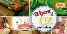 Wizard of Oz Party theme / Wizard of Oz party theme ideas