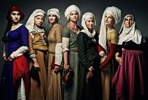 Headscarves in History / From medieval to 1900s