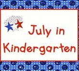 July in Kindergarten / July, a hot, hot month in most places!  But it's never too hot to celebrate the special days of July such as Independence Day on the 4th, National Ice Cream Day on the 3rd Sunday, Canada Day on the 1st, and who can forget National Hot Dog Day on the 23rd?  Pin up to 3 pins per day for the month of July.  If you would like to pin to this board, please send a message to Lmburns2@gmail.com.
