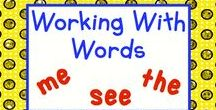 Working With Words in Primary / Post one pin a day of your games, activities, and work sheets for teaching sight words in the primary grades.