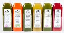 SKINNY CLEANSE / Six juices per day will give your body what it needs to slim down, burn fat, eliminate bloating, and give you more energy.   INGREDIENTS: Energy & Endurance - apple, kale, spinach, collard greens, carrot, and lemon juices.  Beauty & Brilliance - orange, carrot, lemon, and ginger juices.  Slim & Strong - carrot, apple, beet, and lemon juices. Heal & Hydrate - pineapple, cucumber, and aloe vera juices.
