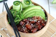 Poke and Buddha bowls and other eastern dishes