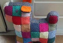 Knit & crochet animals