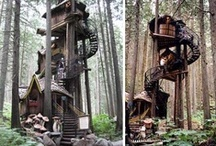 TREEHOUSES, I want one so bad. / by Shelby Wills
