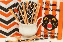 Halloween Party Ideas / Trick or Treat with The Sugar Diva and grab some of our fun Halloween party items to use when serving your spooky guest. Boo to you, The Sugar Diva Team