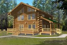 Log House Plans / Our collection of Log Cabin house plans represent a simple way of life that have been creatively enhanced with sophisticated architectural design elements while continuing to represent the best in modern construction technique. This mainstay of functional living, Log Cabin homes have continued to evolve into comfortable and stylish retreats for family living whether rustic in nature or manor-like lodges.