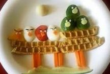 Cute Food Projects / Found on the web.