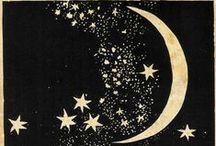 ༺♥༻Under the Moonlight༺♥༻ / ☾ ● ◯  Moon and Stars ☆☆ / by ☪ᏕᏂÅz *⁀ღ