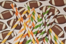 Football Season / Party treats and food ideas for sports games and movie nights.