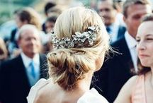 Wedding Hair Styles / A collection of gorgeous hairstyles for your wedding day, plus the perfect jewelry to go along with it! / by Diamond in the Rough Jewelry