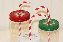PLASTIC MASON JARS & COLORED DAISY CUT JAR LIDS / Stylish PLASTIC MASON JARS with colored Daisy Jar Lids for serving your favorite party drinks and yummy food treats. Pink Lemonade, Extra Sweet Tea, Party Punch, Milk Shakes, Smoothies, Salad in a Jar, Cupcakes in a Jar, Dessert Jars, Veggie Jars, Candy, Snacks, GumBalls, Party Favors, Layered Food Mixes, Puddings, Cobblers and Pies. Trendy, Stylish, Fun