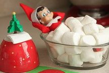 Elf on the Shelf / I can't wait to do this when I have kids!