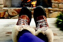 Crocs   Winter Cozy / Stay Warm and cozy even in the winter.  Check out our board for great winter styles.