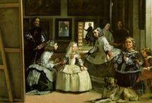 Rembrandt, Caravaggio, Vermeer, Velasquez...... / by Luiz Carlos Pedrosa
