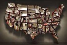 bookshelves / by Shelby Wills