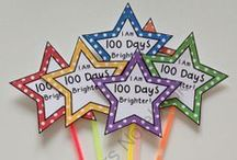 100th Day of School / Celebrating the 100th day of school!