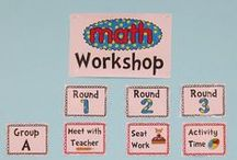 Math Centers and Guided Math / Daily 5...but for math!