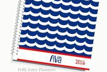 Planners and Organizers / 2016 Planners, Daily Planner, Personalized Planners, Polly Ester Planners